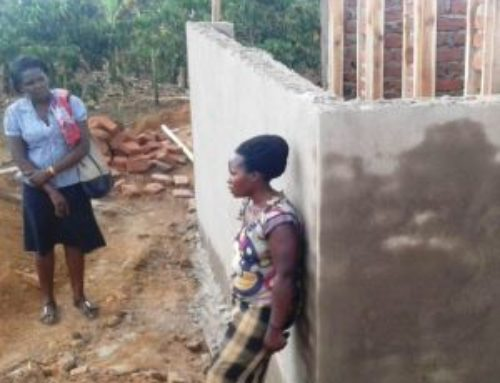 Good news about the latrines at the Little Stars School
