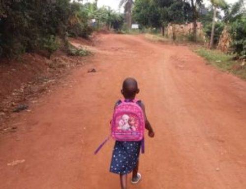 Rehema's eerste schooldag
